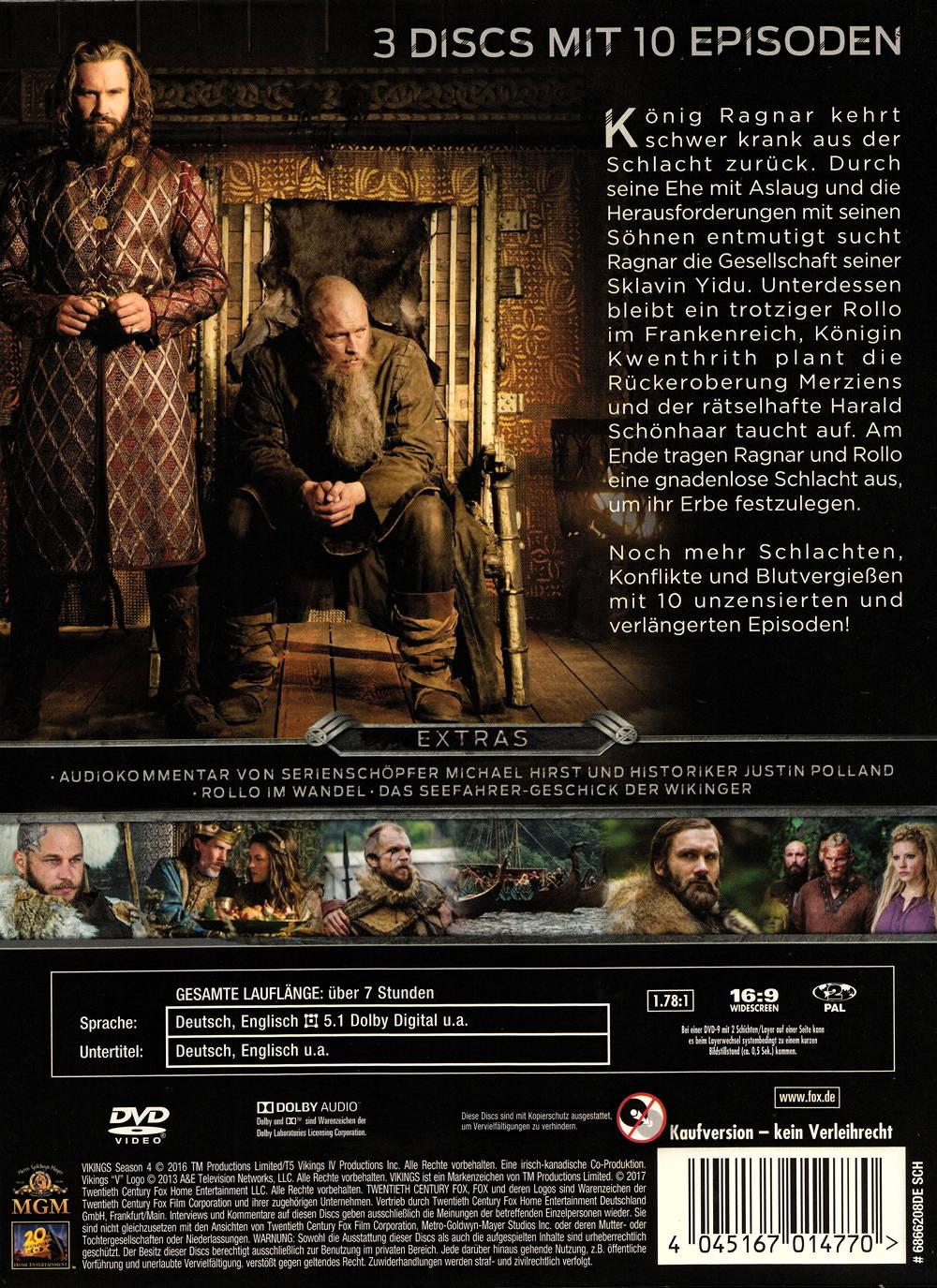 Vikings Dvd Staffel 4