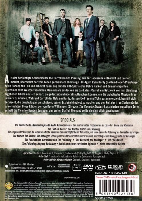 The Following Staffel 1