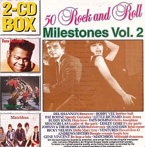 50 Rock and Roll Milestones Vol. 2 [CD]