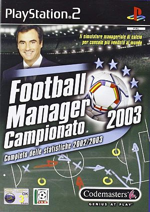 Football Manager 2003 [Sony PlayStation 2]