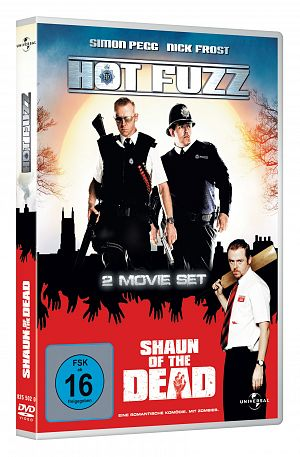 Hot Fuzz / Shaun of the Dead [DVD]